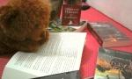 Granger lagi baca novel sambil tengkurap